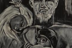 """Be there!"" Acryl auf Leinwand 50 x 50 cm"