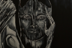 """""""Seth"""" Acryl auf Leinwand 70 x 100 cm"""